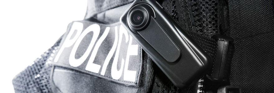 caméra police